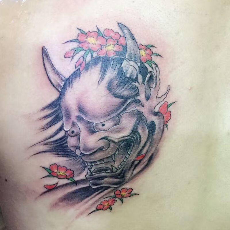 班诺纹身款式图