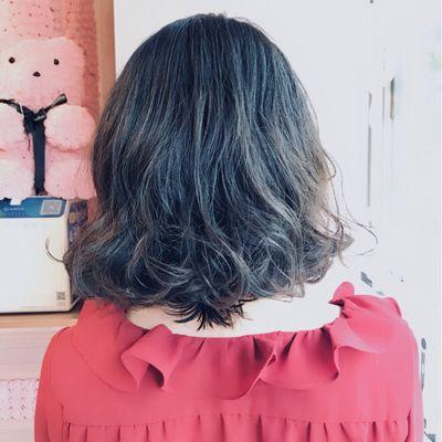 丽人 美发图库 造型烫效果图  5860 创意烫发 中发 女 短发