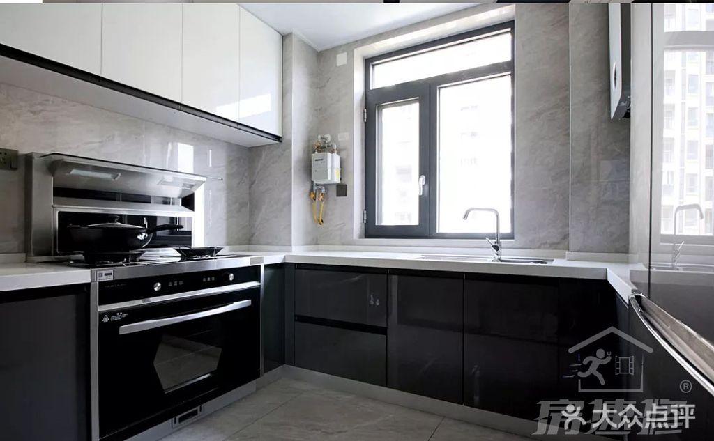 110平米三null风格厨房欣赏图