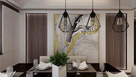 130平米三null风格餐厅装修案例