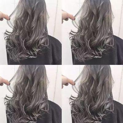 美发图库 造型烫效果图  6700 潮流染发 创意烫发 中发 女 吹造型