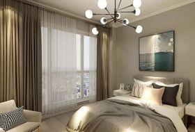 80平米三null风格卧室装修效果图