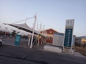 宣化南服务区国家电网电动汽车充电站