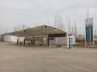 张家口服务区国家电网电动汽车充电站