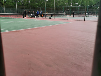 济南大学天赐美玉网球场
