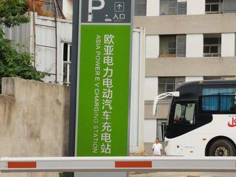 欧亚电力电动汽车充电站停车场