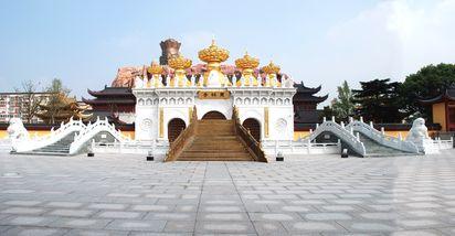 【朱泾镇】上海东林寺-美团