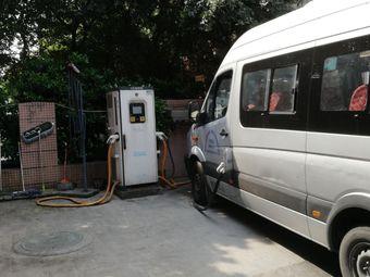 特来电尚祥航空大酒店专用汽车充电站