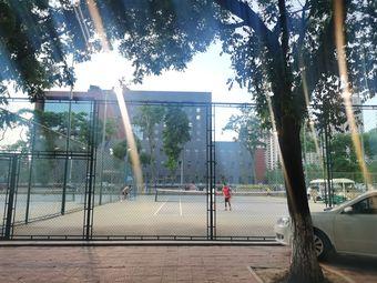 西北师范大学网球场
