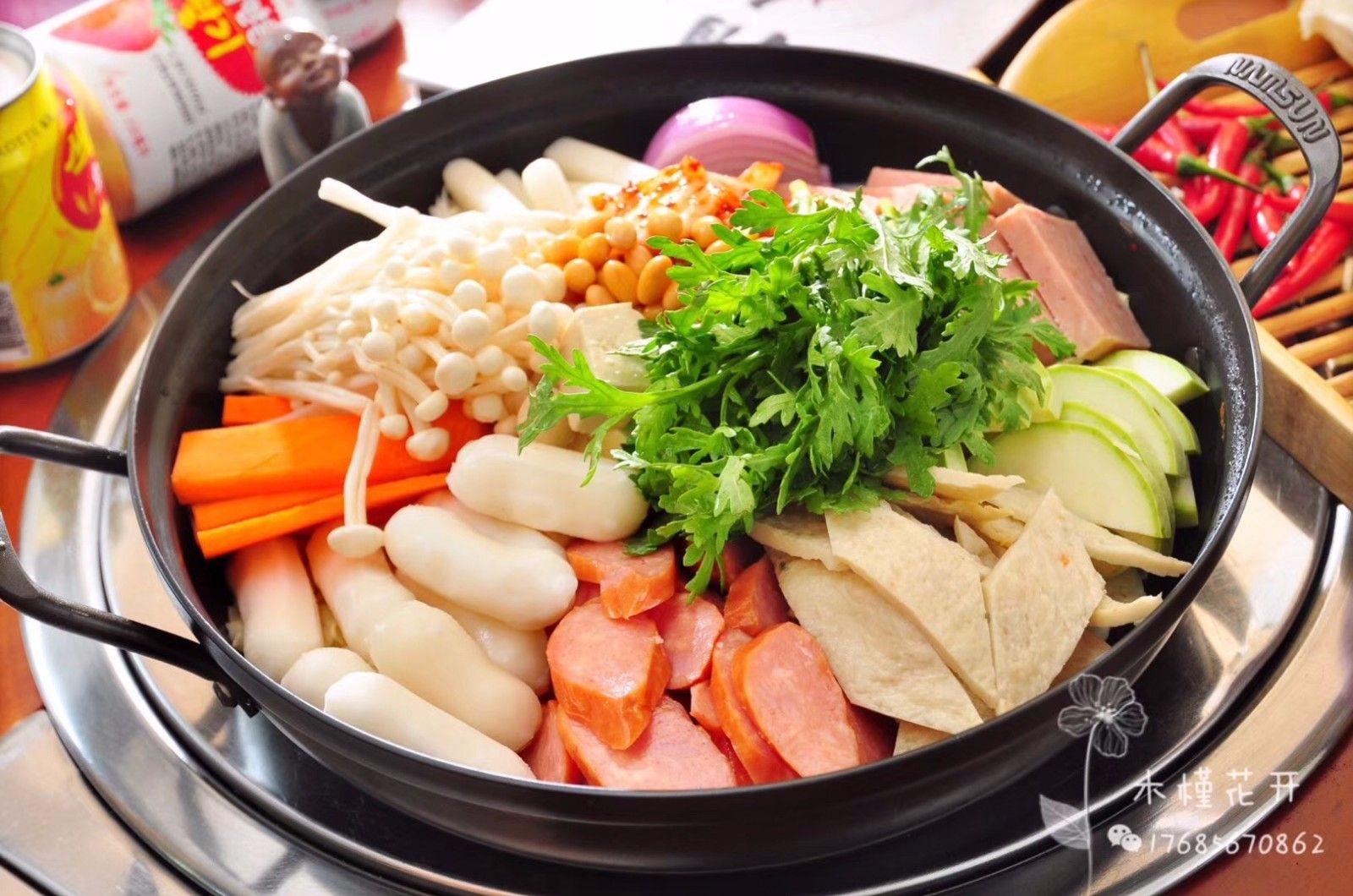 木槿花开韩国主题餐厅