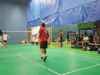 Badminton Center Court