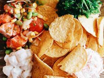 Poke Salad Bar