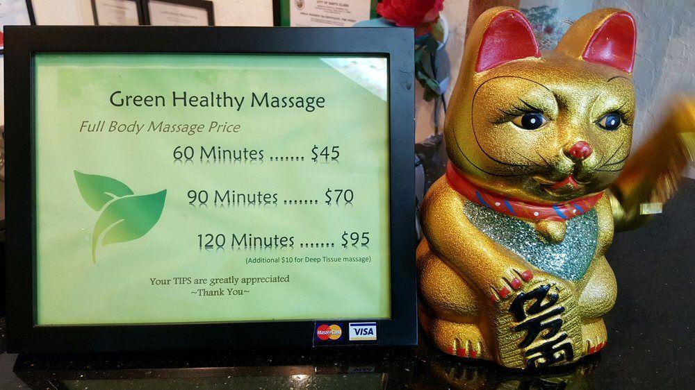 Green Healthy Massage