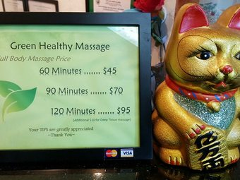 Green Healthy Massage