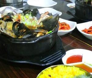 Bijindo Seafood Stew in Hot Pot