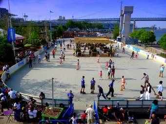 Blue Cross River Rink Summer Fest