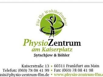 Physio Zentrum am Kaiserplatz Sytschjow & Böhler