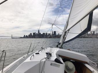 Spinnaker Sailing