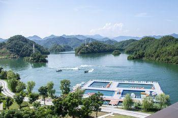 【淳安县】千岛湖进贤湾水上乐园水上摩托(5公里)成人票-美团