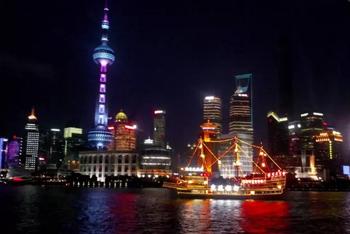 【其它】上海中心大厦观光厅门票+豪华黄浦江夜游船票(成人票)-美团