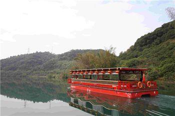 【良口镇】从化流溪河游船(水上绿道)双程游船船票(双人票)-美团