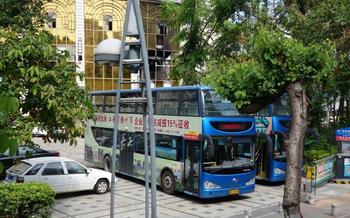 【全国】环岛旅游观光巴士+厦门胡里山炮台(双人票)-美团