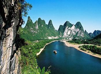 【灵川县】漓江豪华三星游船(含中式环保餐)成人票-美团