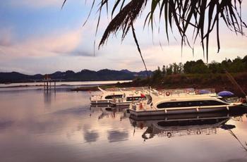 【明珠花园】千岛湖钓鱼岛皮划艇成人票(不限时)-美团