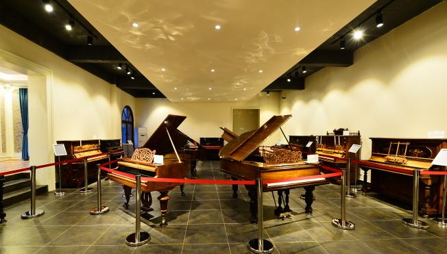 橘子洲古董钢琴博物馆-美团