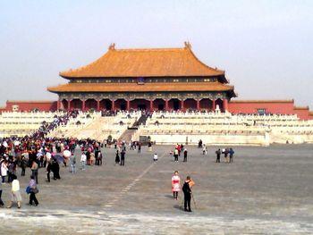 【北京出发】故宫博物院纯玩1日跟团游*门票+导游,无线耳麦-美团