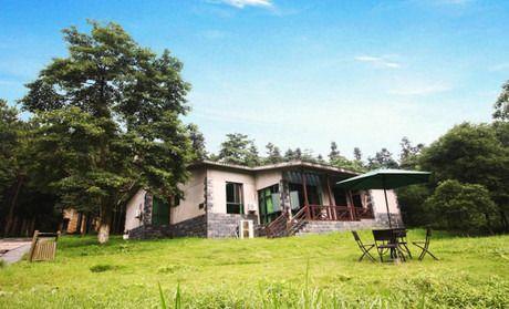 酒店简介                      象山森林公园森林茂密,一栋栋小木屋