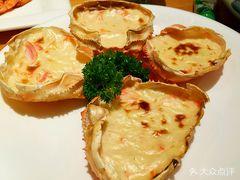 桃山日本料理铁板烧的蟹壳