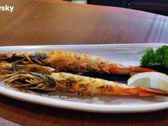 赤坂亭炭火烧肉(新天地店)的烤虾