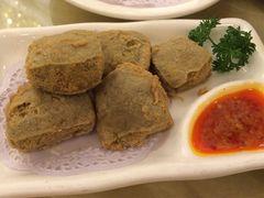 金时代顺风大酒店(汇银广场店)的炸臭豆腐