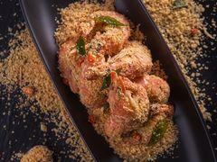新肴珍宝海鲜(来福士店)的麦片虾