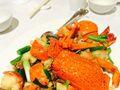 姜葱炒龙虾