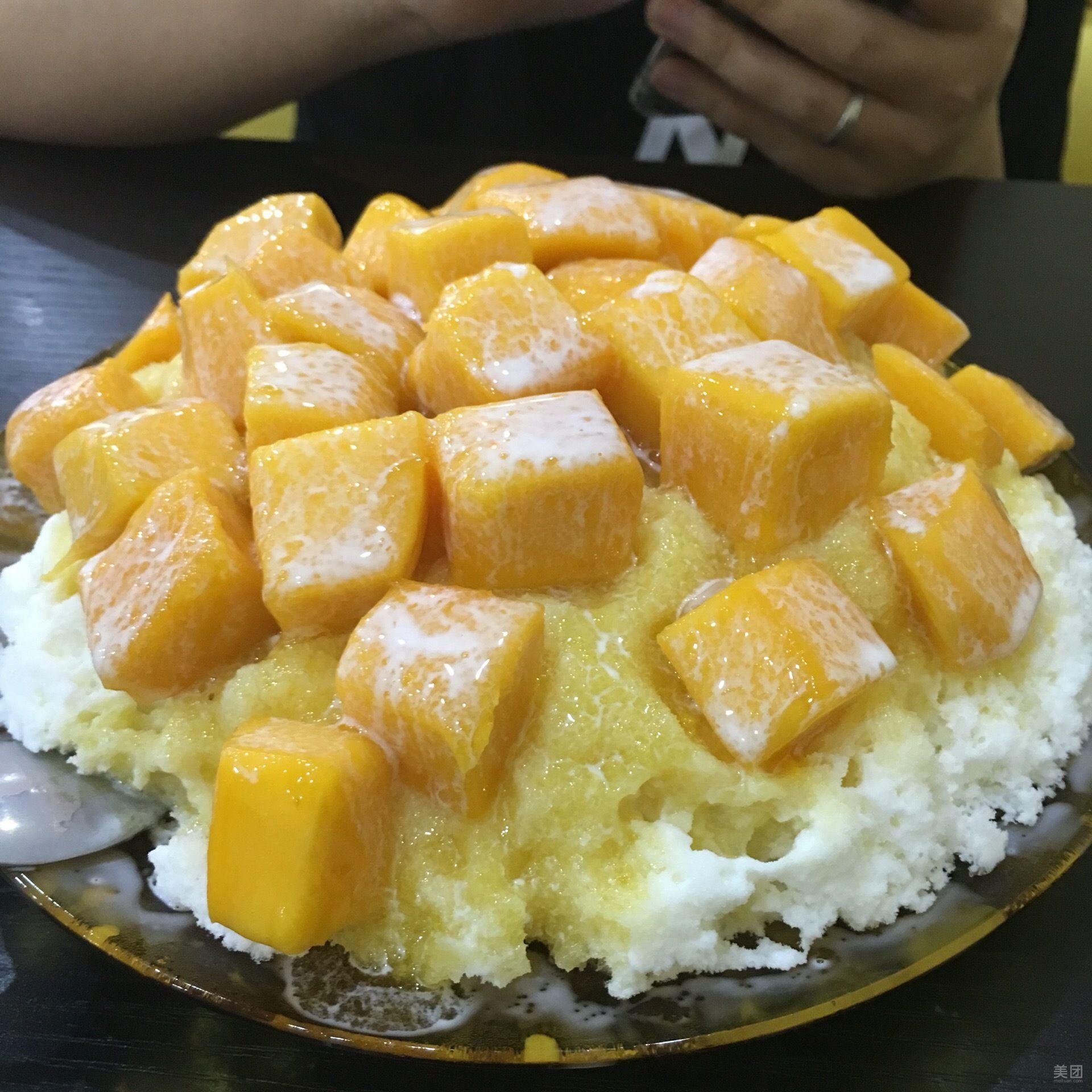榴芒恋上冰(太沙店)地址_电话_菜单_人均消费_营业(图