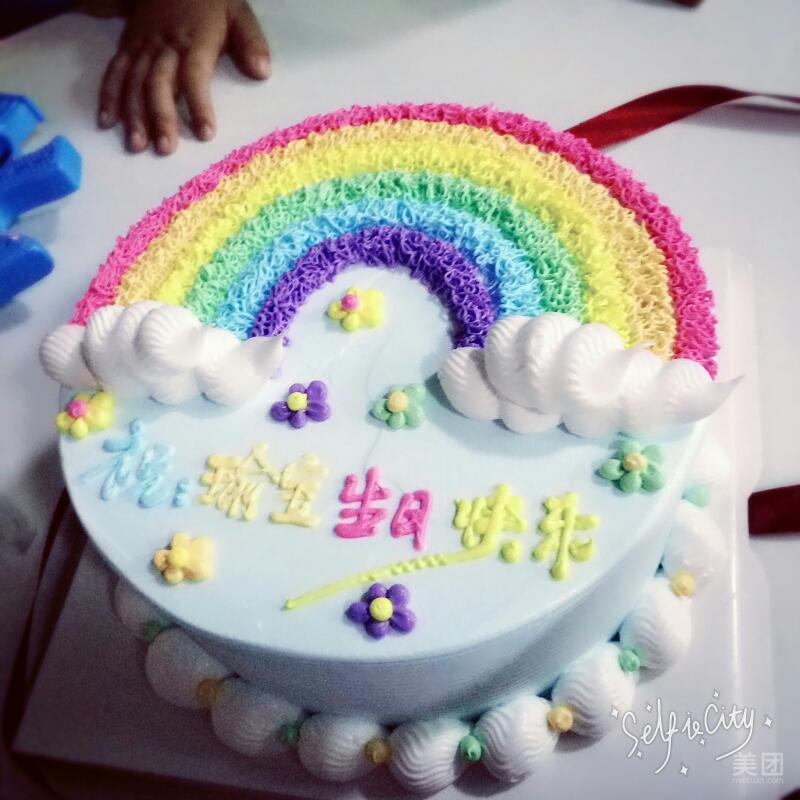 蛋糕屋怎么画简笔画