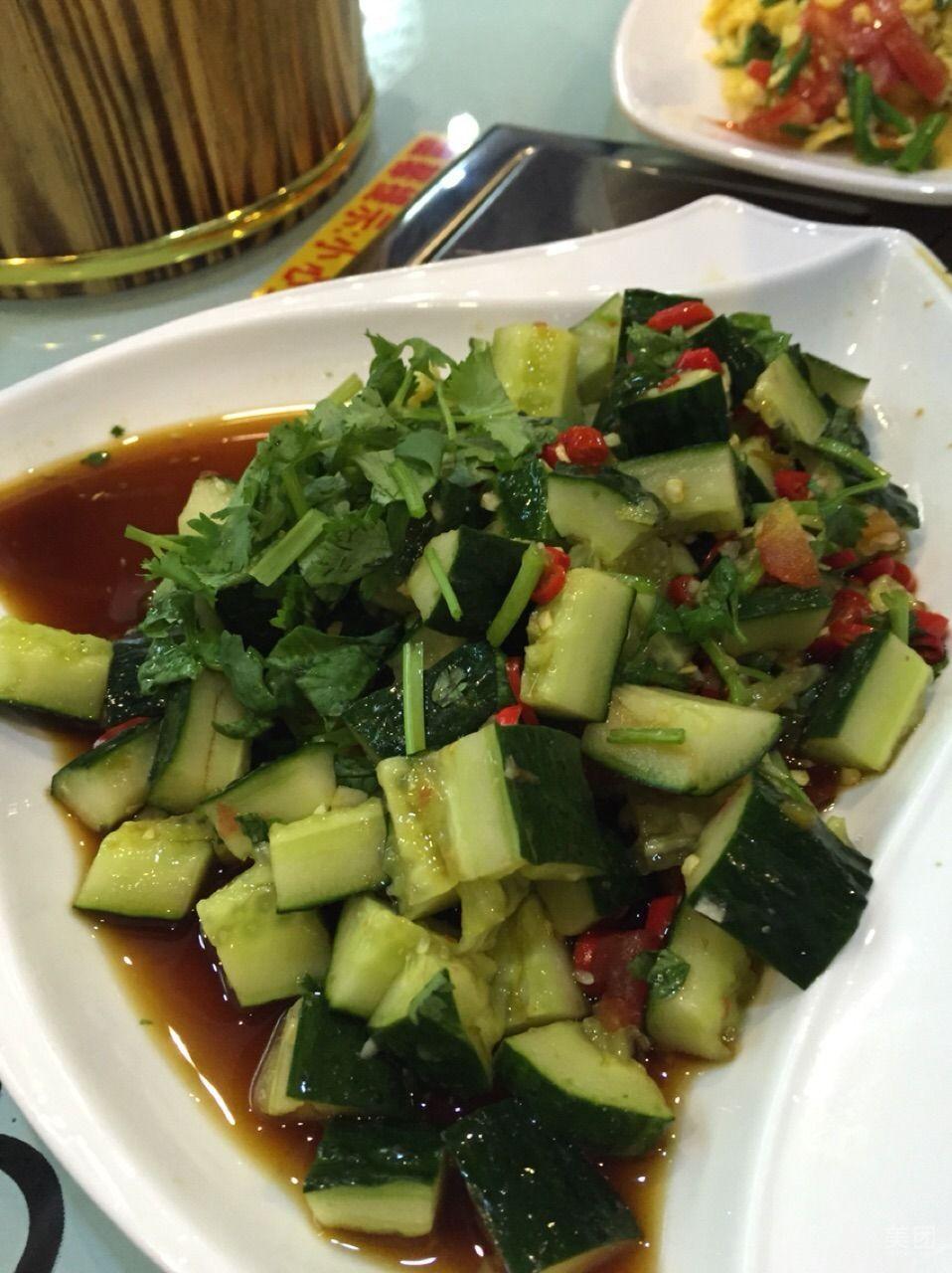 拌黄瓜-巴国私厨外卖-美团什么草像罗勒图片