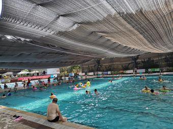 语鸣度假村游泳池