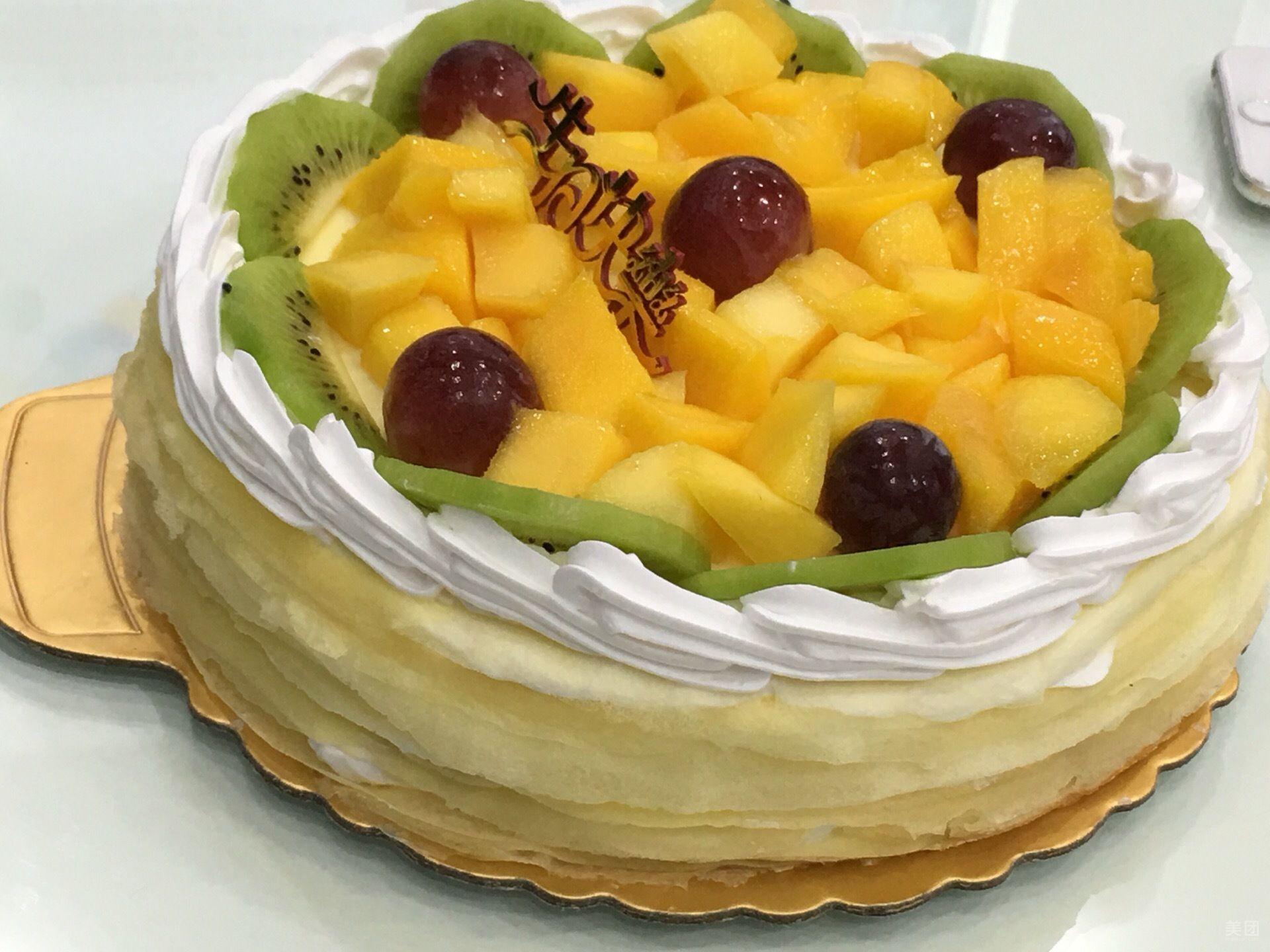 榴莲千层蛋糕可以放多久?