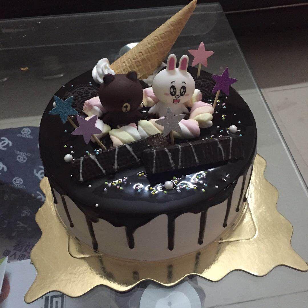 苏咔蛋糕苏咔蛋糕布朗熊1-北京美团网
