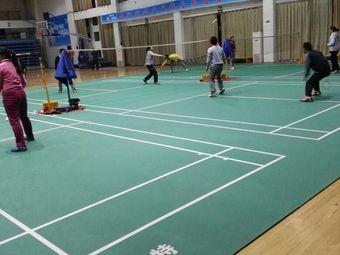 体育场羽毛球馆