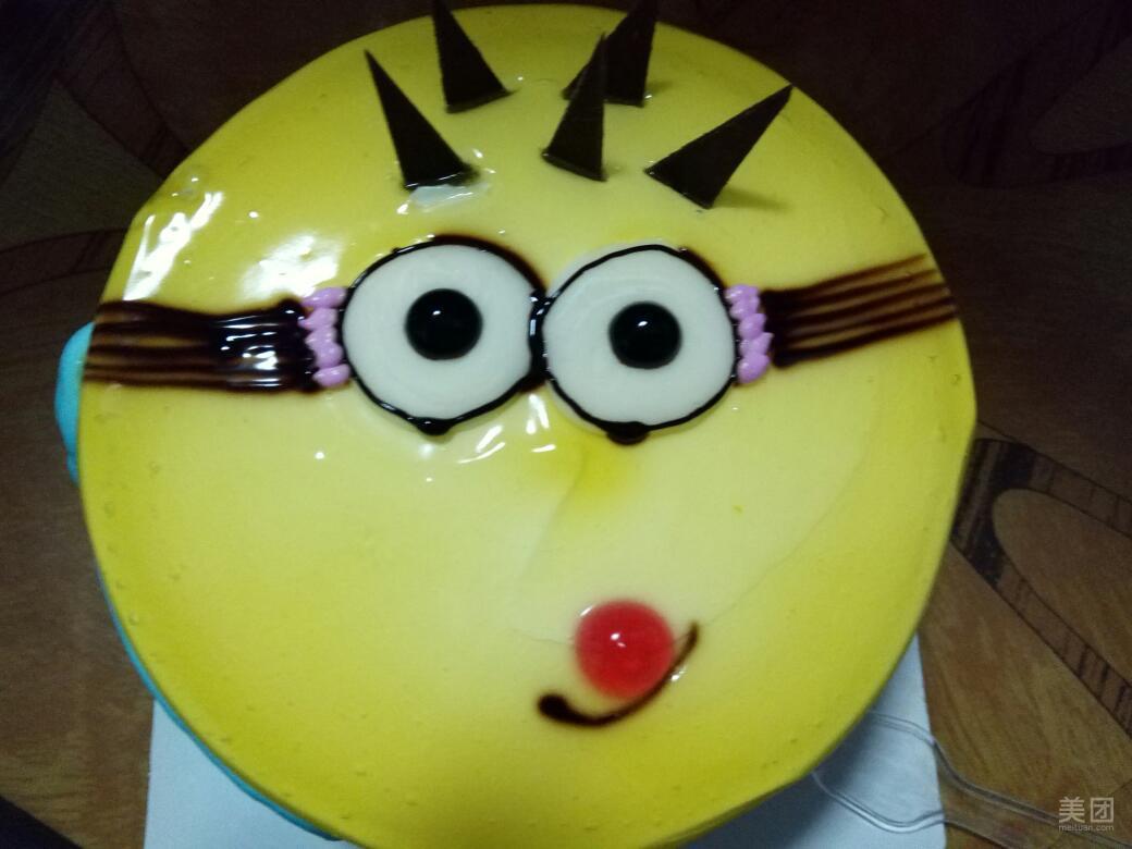迷你可爱小蛋糕怎么画