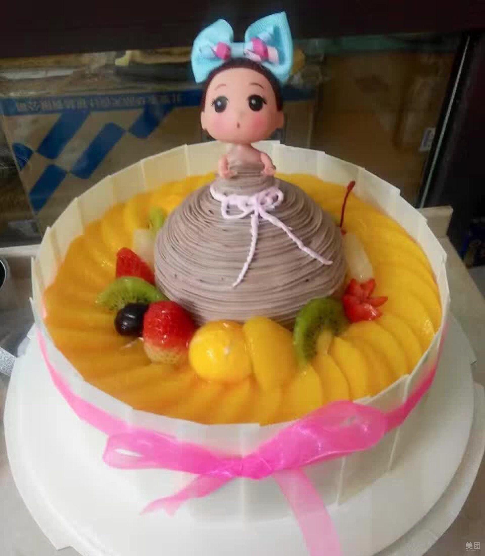 芭比娃娃蛋糕-好运来艺术蛋糕烘坊-美团图片