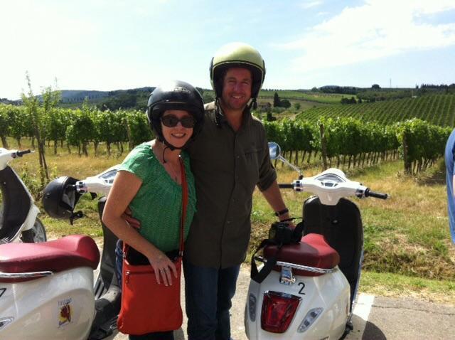 Tuscany by Vespa
