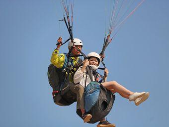 惠州大亚湾海景滑翔伞基地