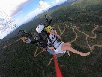 惠州龙发山滑翔伞体验基地