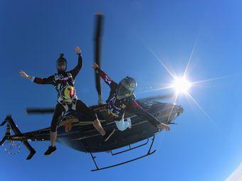海棠湾塔赫跳伞基地直升机跳伞体验