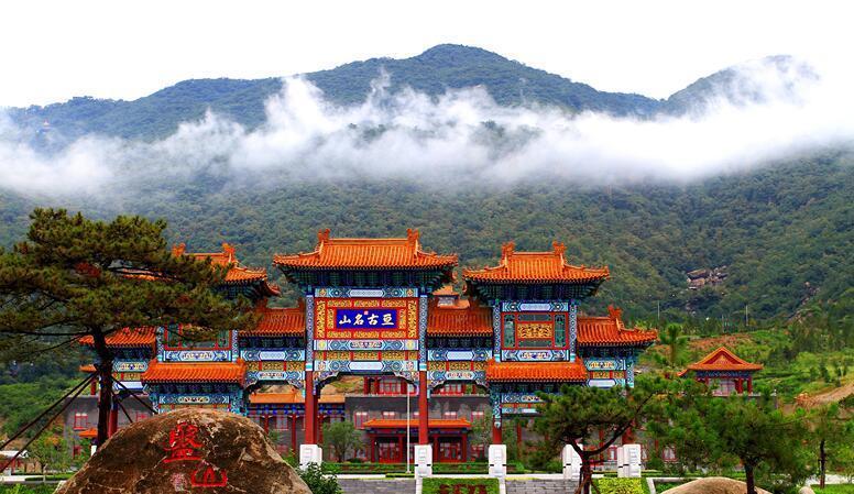 中国蓟州盘山风景名胜区 天津盘山风景名胜区,位于天津市蓟县西北15